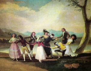 La gallinita ciega (Goya)